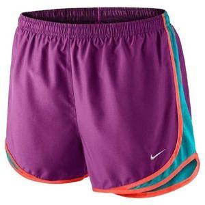 NIKE Cosmic Purple Women's Dri-fit Tempo Shorts